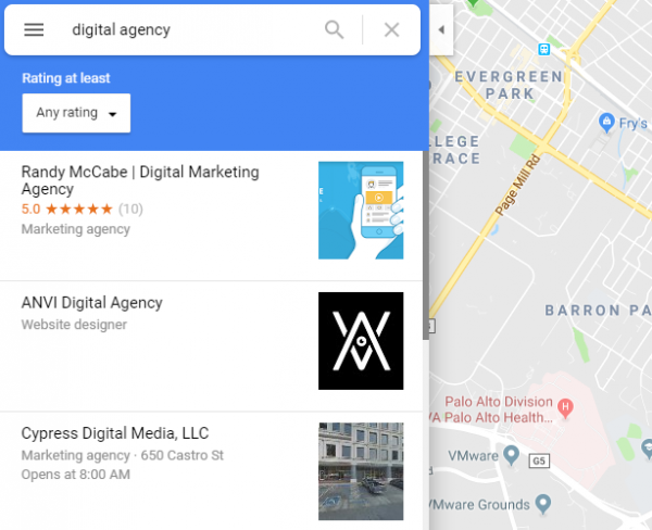 rank 1 google maps SEO agency